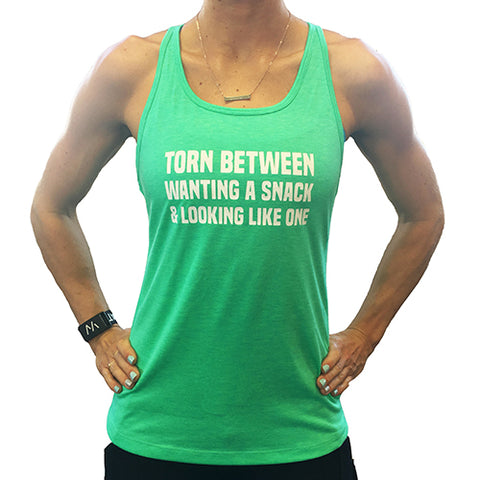Keep Your Squats Low And Your Standards High Open Back Tank Top