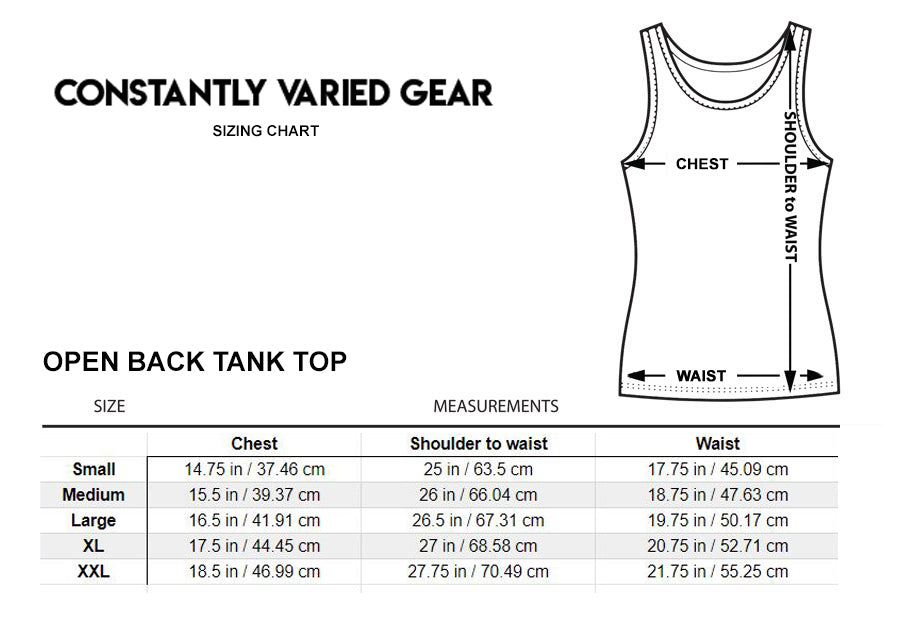 New Style: CVG Barbell Logo Tank Top