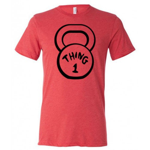Thing One Kettlebell Shirt Mens