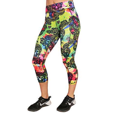 Color Me Bad(Ass) Capri Leggings
