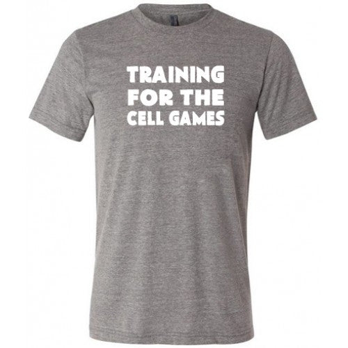 Training For The Cell Games Shirt Mens