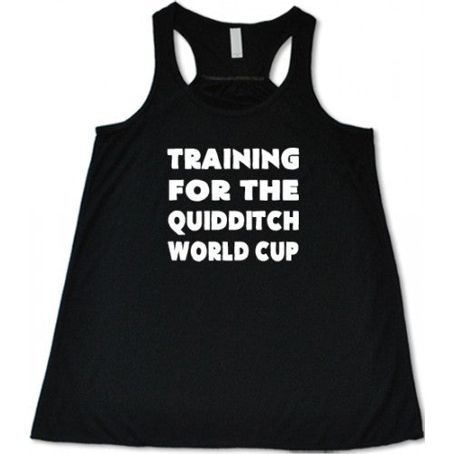 Training For The Quidditch World Cup Shirt