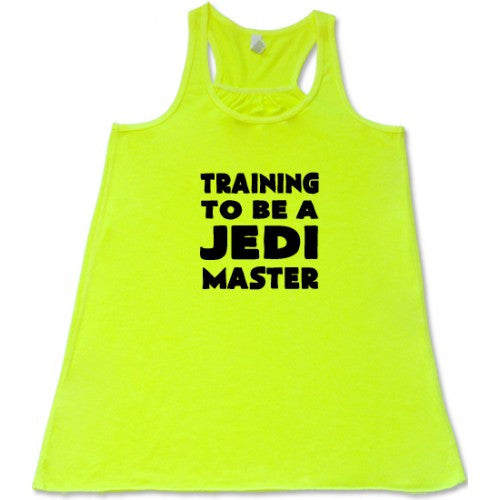 Training To Be A Jedi Master Shirt