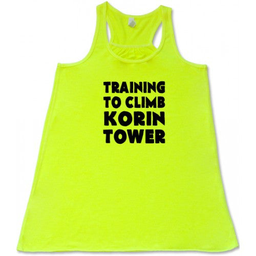 Training To Climb Korin Tower Shirt