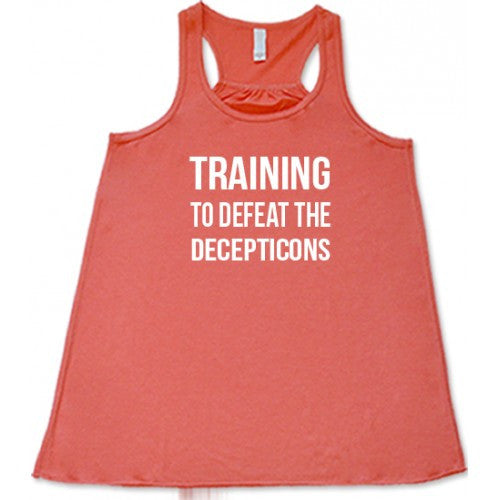 Training To Defeat The Decepticons Shirt