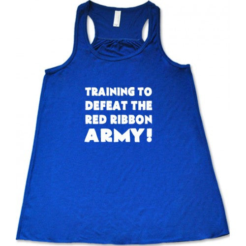 Training To Defeat The Red Army Shirt