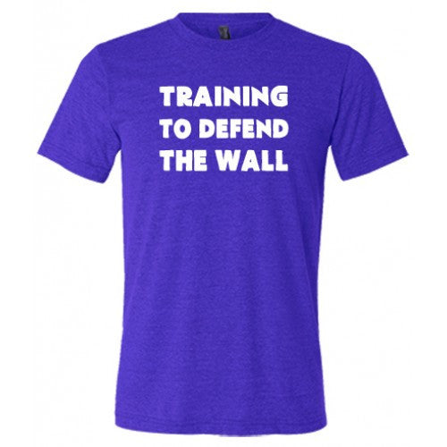 Training To Defend The Wall Shirt Mens