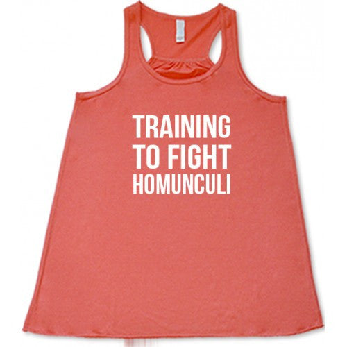 Training To Fight Homunculus Shirt