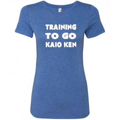Training To Go Kaio Ken Shirt