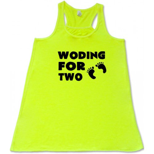 Woding For Two Baby Feet Shirt