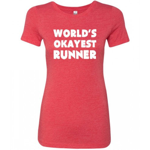 World's Okayest Runner Shirt