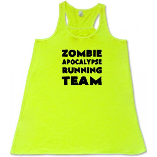 Zombie Apocalypse Running Team Shirt