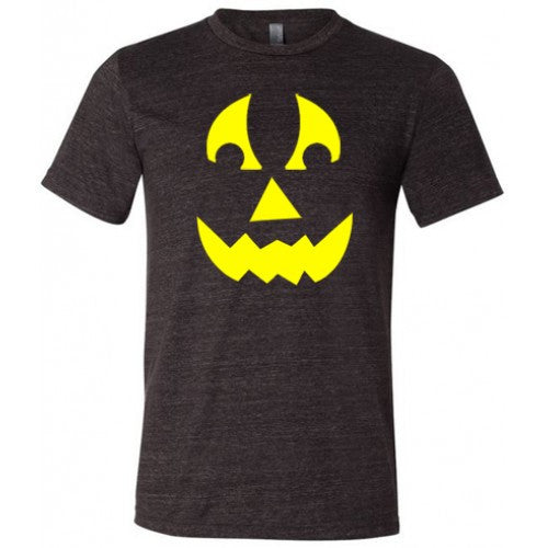 Angry Pumpkin Shirt Mens