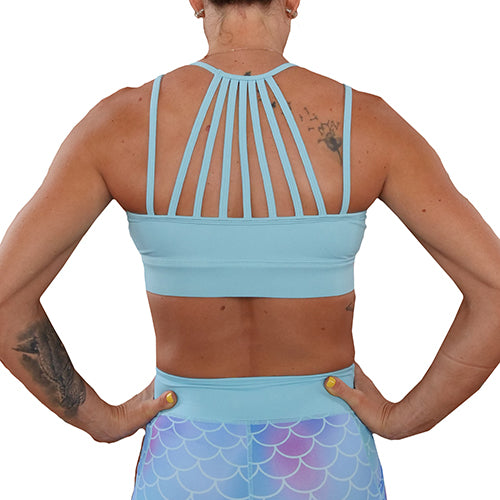 Bombshell Blue Sports Bra