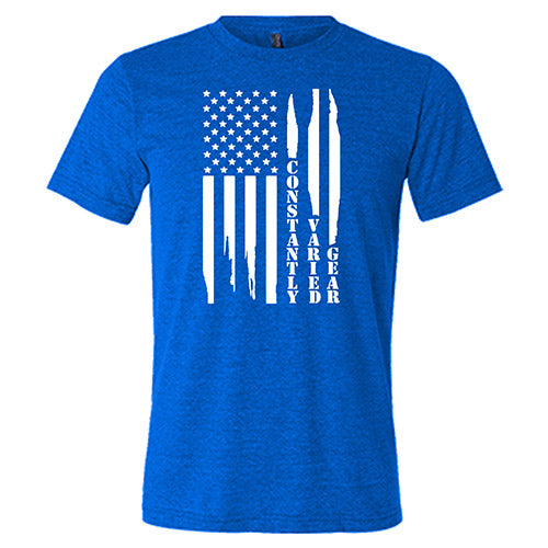 Constantly Varied Gear Distressed Flag Shirt Mens