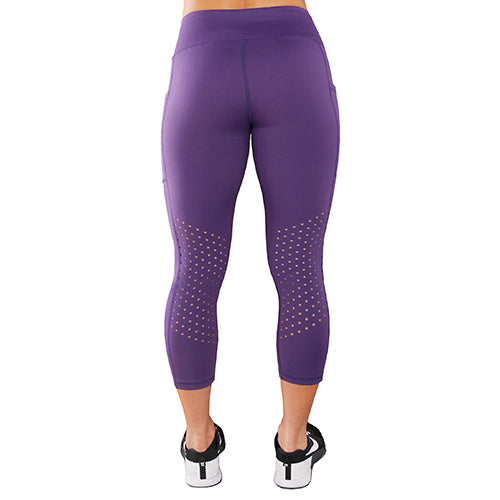Purple Capri Leggings