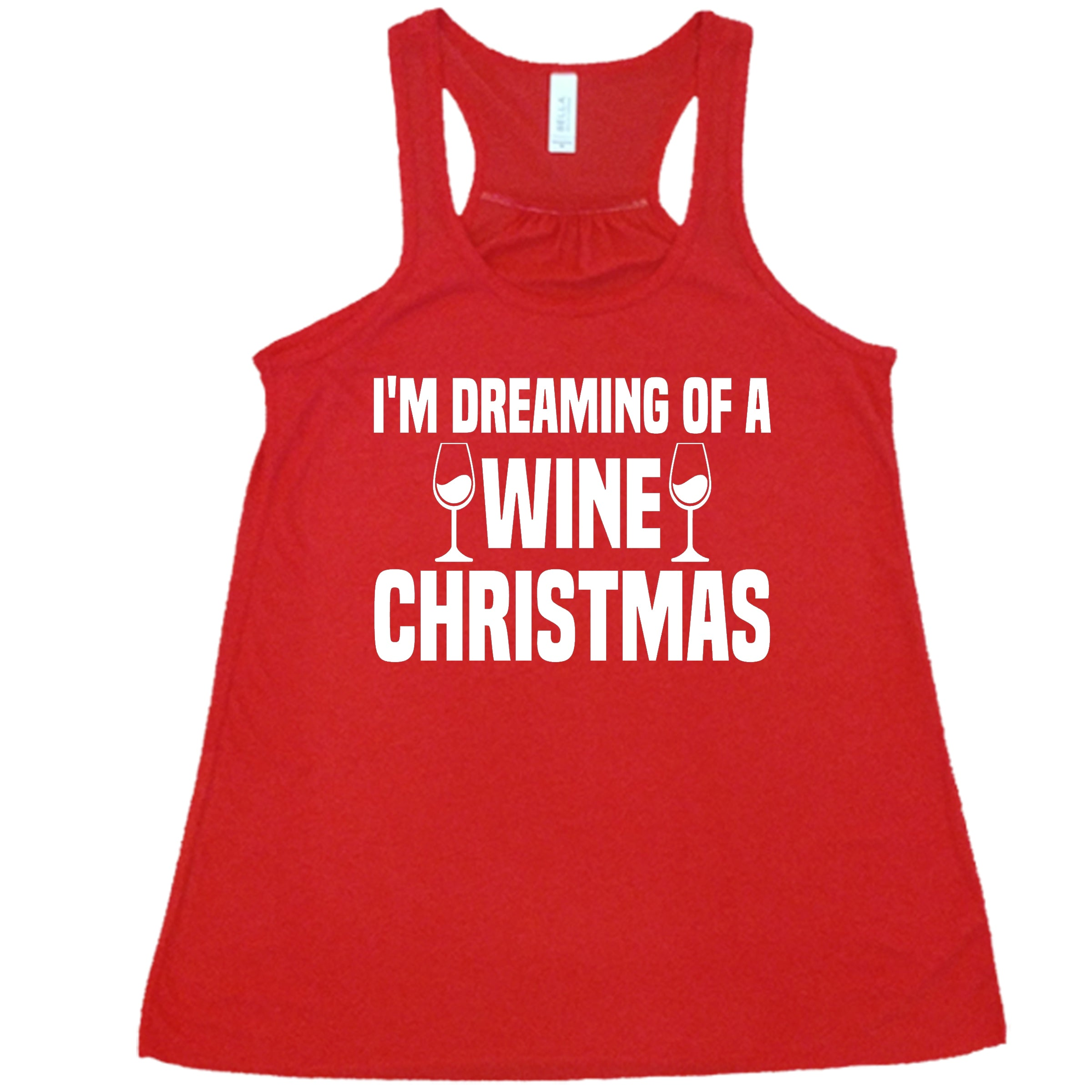 I'm Dreaming Of A Wine Christmas Shirt