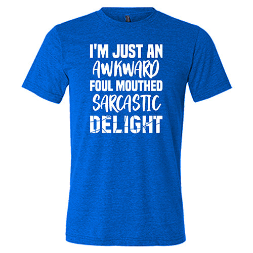 I'm Just An Awkward Foul Mouth Sarcastic Delight Shirt Mens