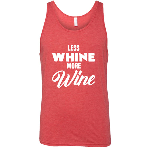 Less Whine More Wine Shirt Mens