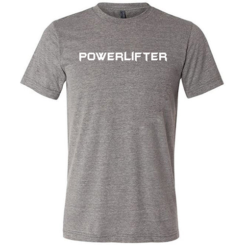 Powerlifter Shirt Mens