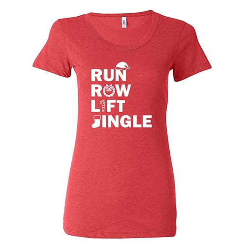 Run Row Lift Jingle Shirt