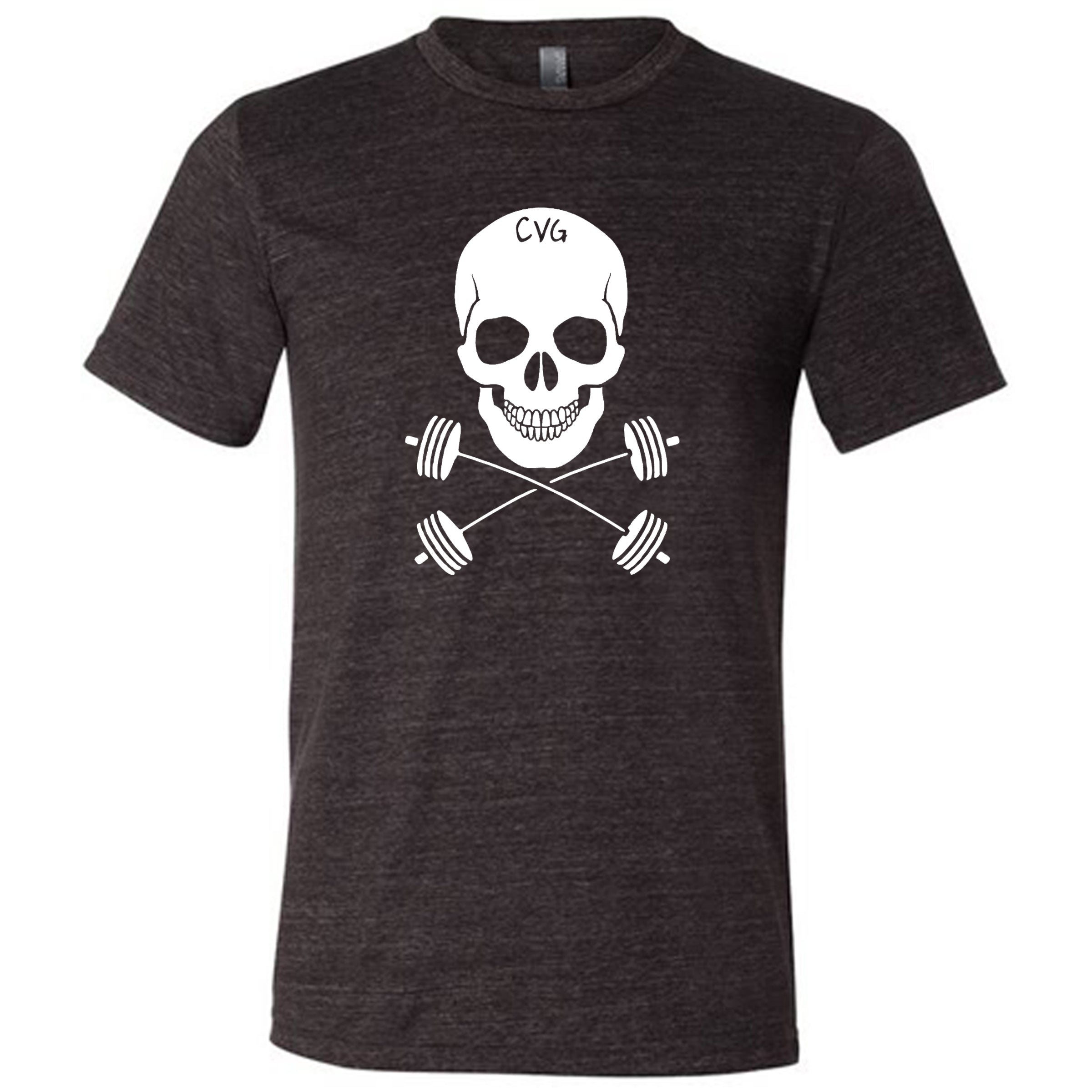 Skull & Barbell Crossbones Shirt Mens