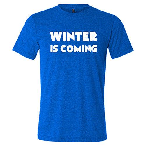 Winter Is Coming Shirt Mens