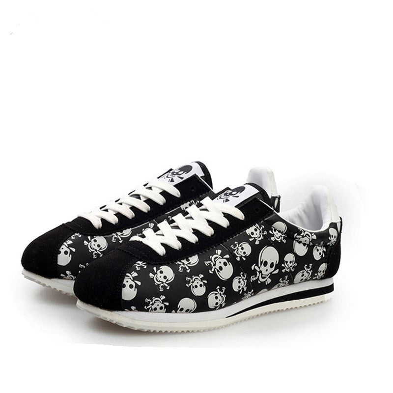Unisex Skull Head Casual Shoes