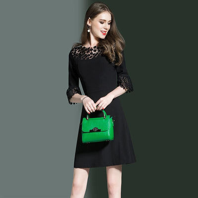 Eliana Affordable Lace Flared Dress For Women