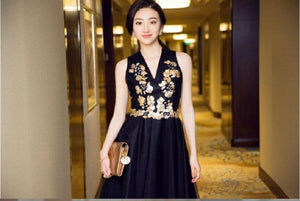 Black Lily Doll Dress For Women