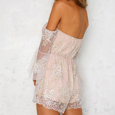 Affordable Fairy Lace Jumpsuit For Women