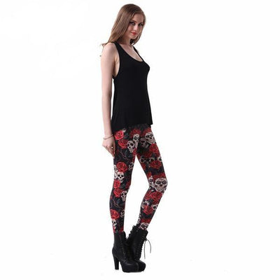 Touch of Rose Funky Leggings For Women