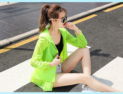 Marlie Sun Protection Transparent Jacket