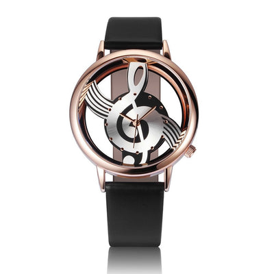 Unisex Musical Note Watch