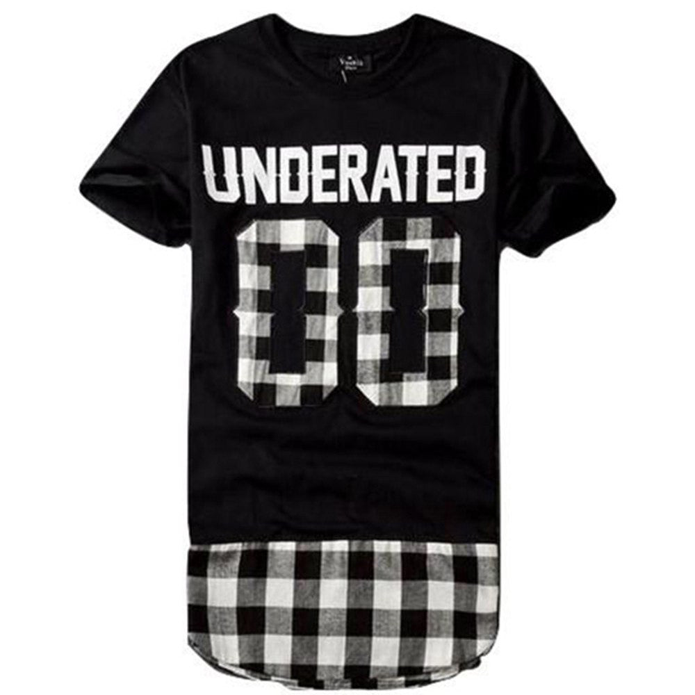 Underated Extended T-shirt For Men