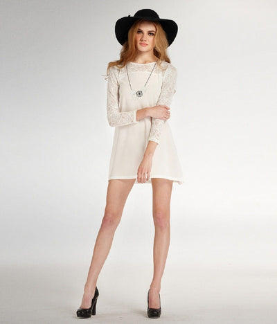Jantje Lace Mini Dress