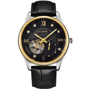 Men's Leather Luxury Watch