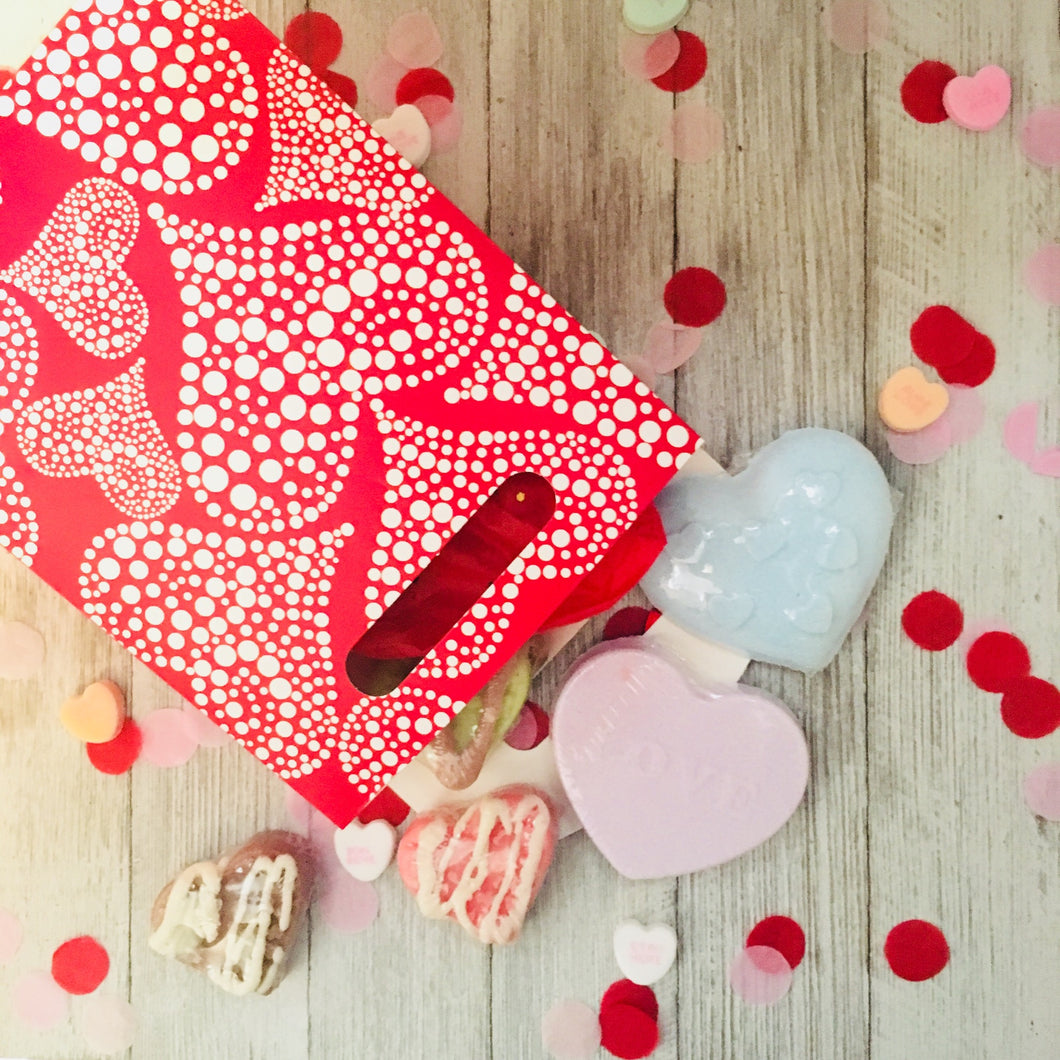 Valentine Gift Bag - Little Tree Hugger Soap