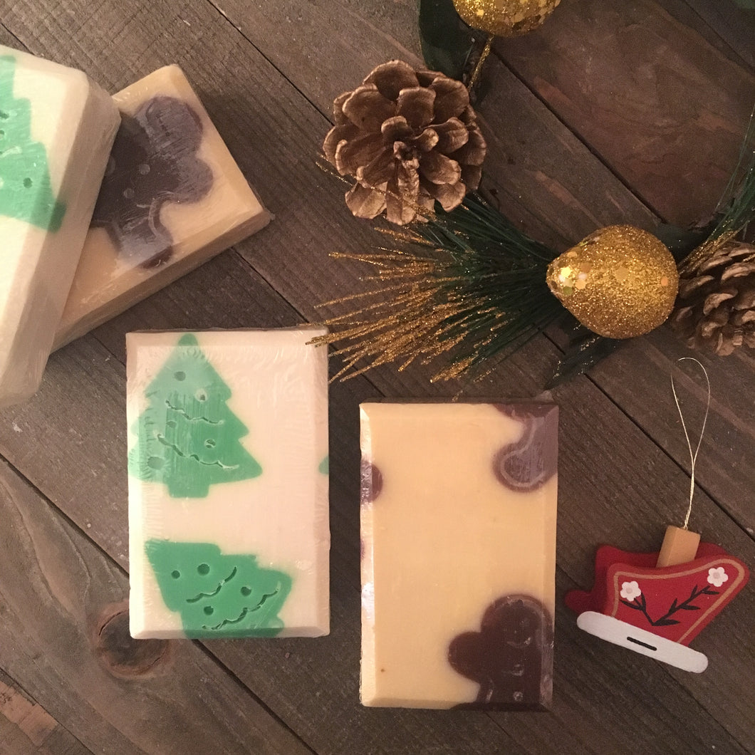Oh Christmas Tree Soap Bar - Little Tree Hugger Soap