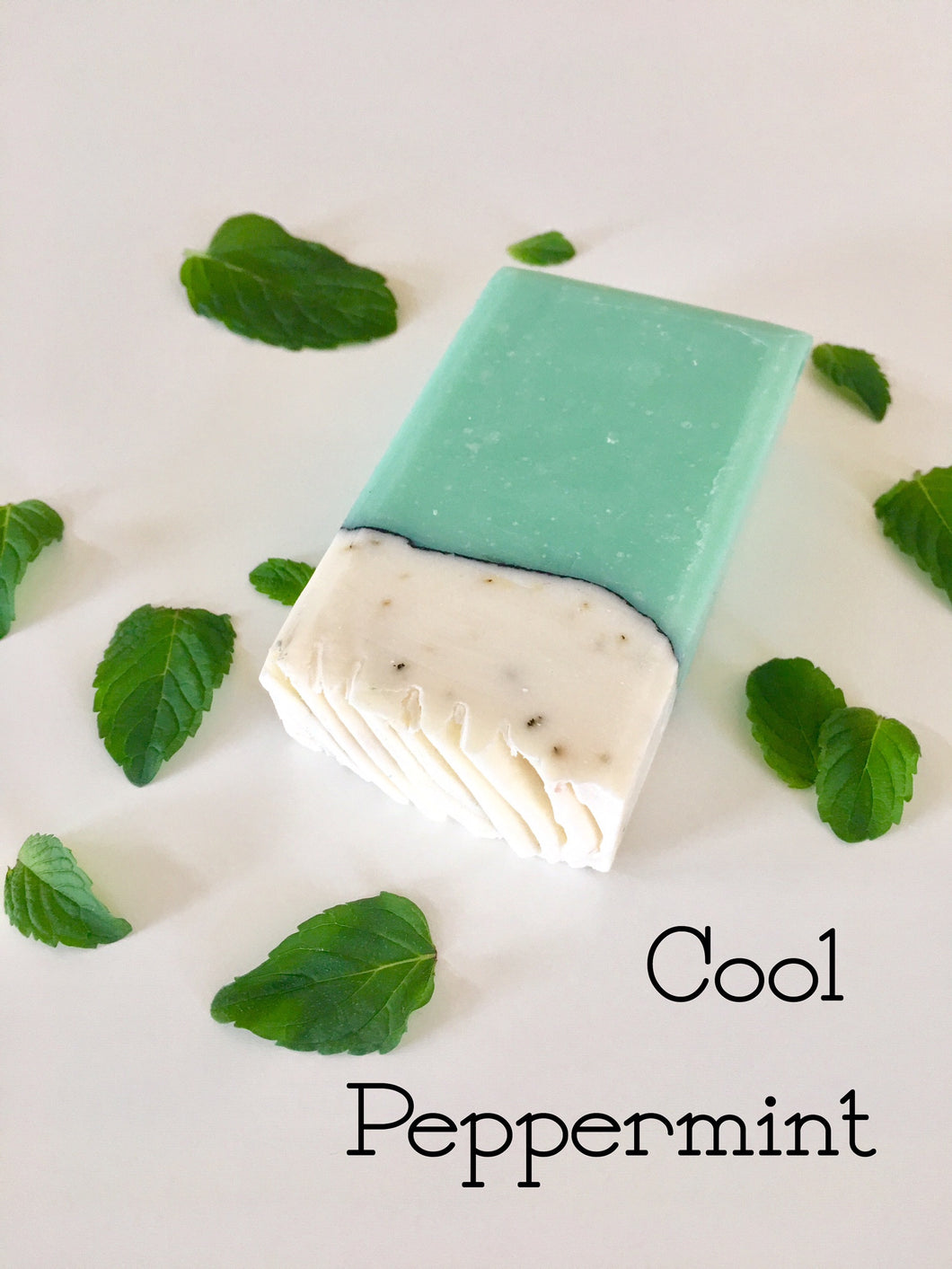 Cool Peppermint Soap Bar - Little Tree Hugger Soap
