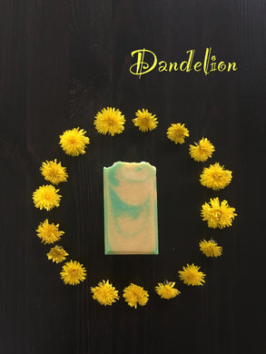 Dandelion Soap Bar - Little Tree Hugger Soap