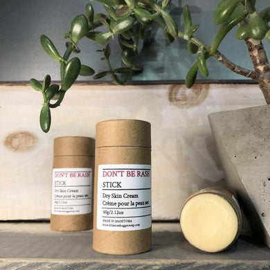 Don't Be Rash Stick Cream for Eczema-prone & Dry Skin. - Little Tree Hugger Soap
