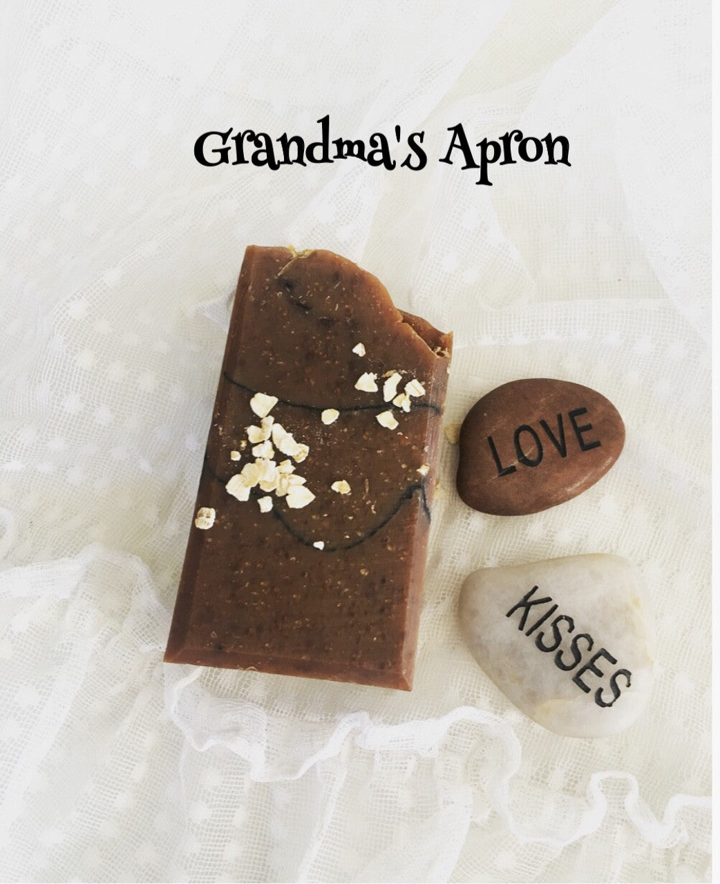 Grandma's Apron Soap Bar - Little Tree Hugger Soap