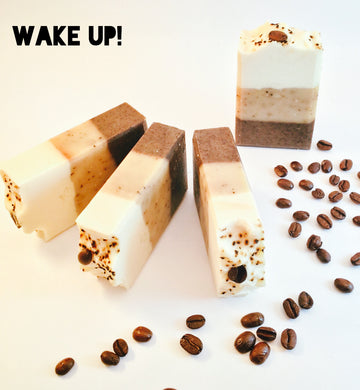 Wake-Up! Espresso Soap Bar - Little Tree Hugger Soap
