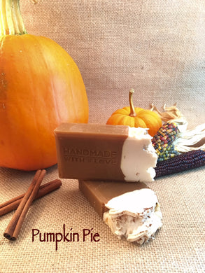 Pumpkin Pie Soap Bar - Little Tree Hugger Soap