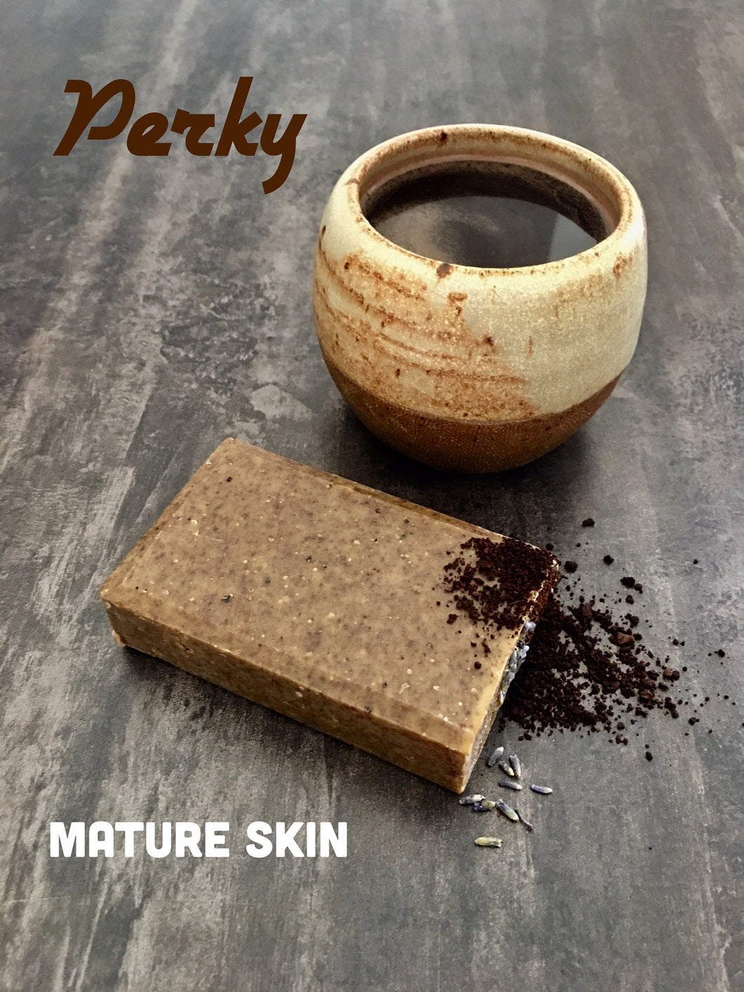 Perky Mature Skin Soap Bar - Little Tree Hugger Soap