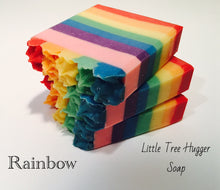 Rainbow Soap Bar - Little Tree Hugger Soap