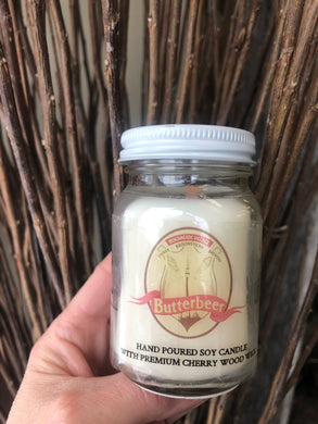 Butterbeer Candle - Little Tree Hugger Soap
