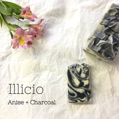 Illicio-Activated Charcoal & Star Anise Soap Bar