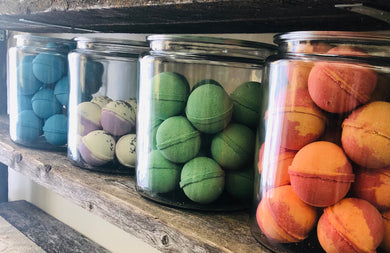 Bath Bombs Luxury Spa - Little Tree Hugger Soap